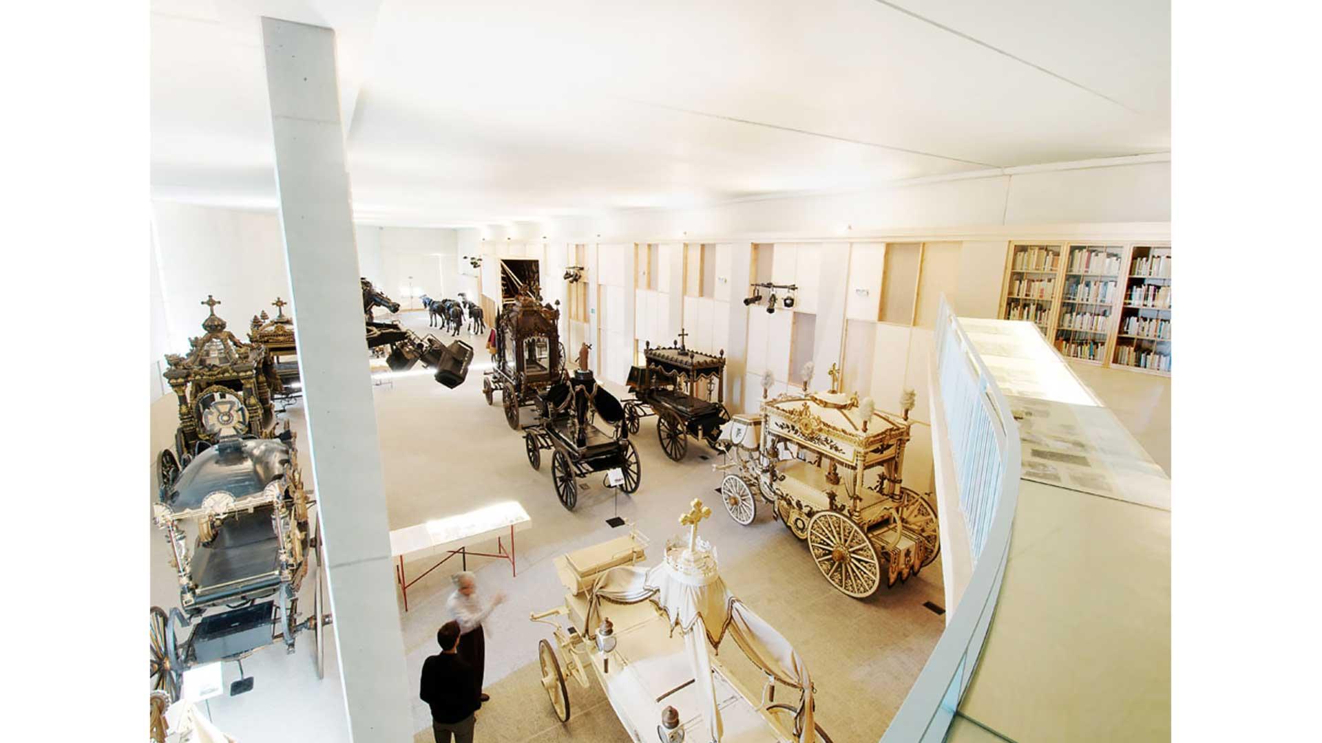 MUSEOGRAFIA COL·LECCIÓ CARROSSES